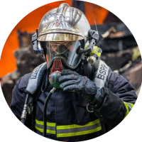 Pompier ari