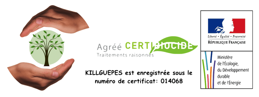 Certibiocide killguepes